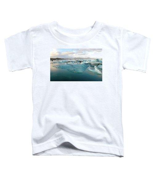 Jokulsarlon The Glacier Lagoon, Iceland 2 Toddler T-Shirt