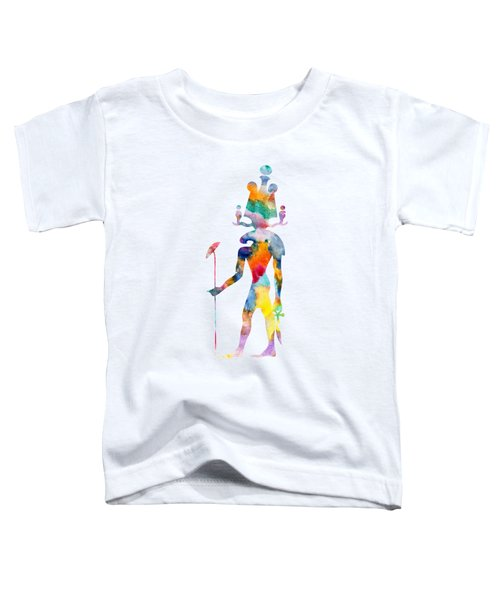 Khensu - God Of Ancient Egypt Toddler T-Shirt