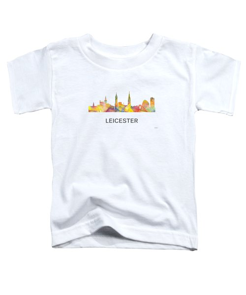 Leicester England Skyline Toddler T-Shirt