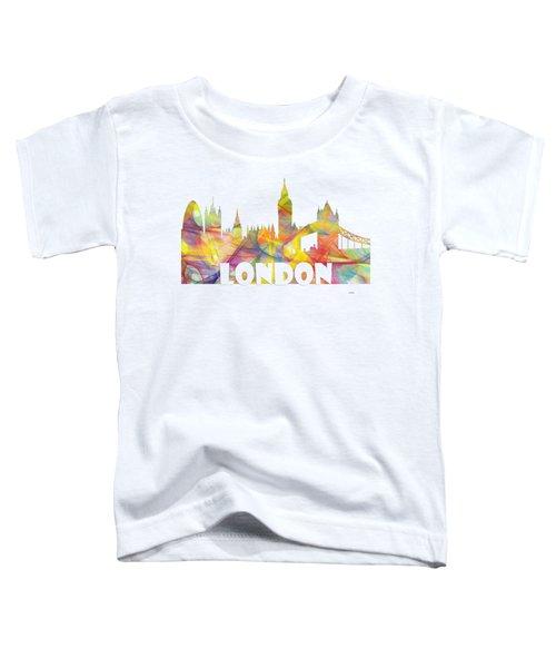 London England Skyline Toddler T-Shirt