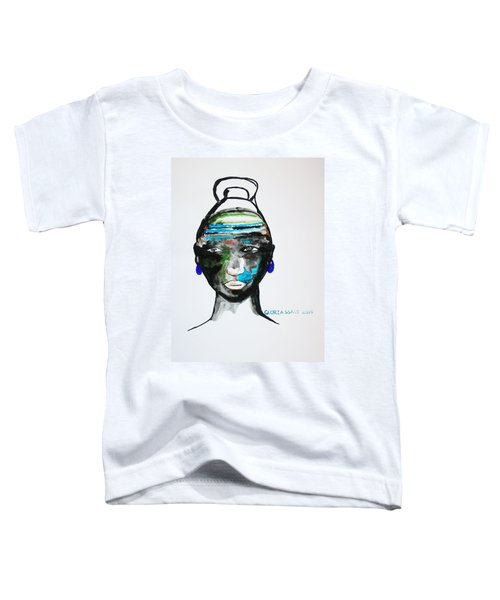 Nuer Bride - South Sudan Toddler T-Shirt