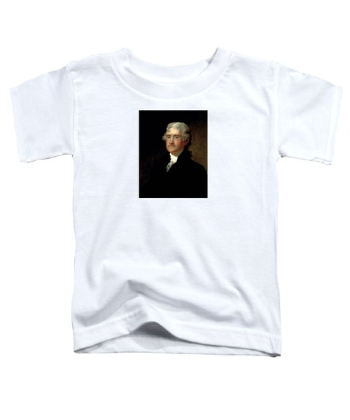President Thomas Jefferson  Toddler T-Shirt