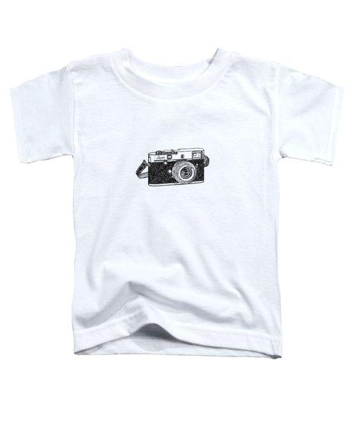 Rangefinder Camera Toddler T-Shirt