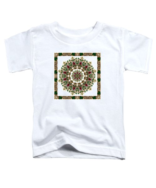 Ruby And Emerald Kaleidoscope Toddler T-Shirt