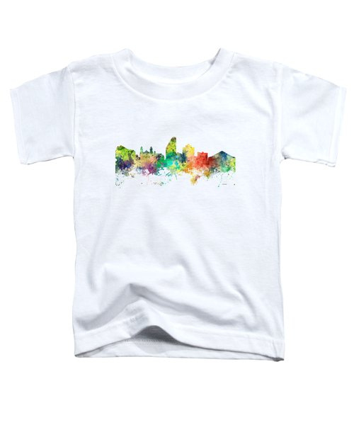 San Jose California Skyline Toddler T-Shirt