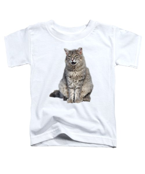 Sitting Cat Toddler T-Shirt