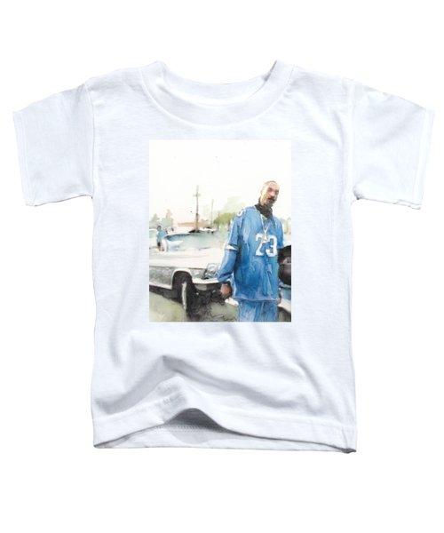 Snoop Detail Toddler T-Shirt by Jani Heinonen