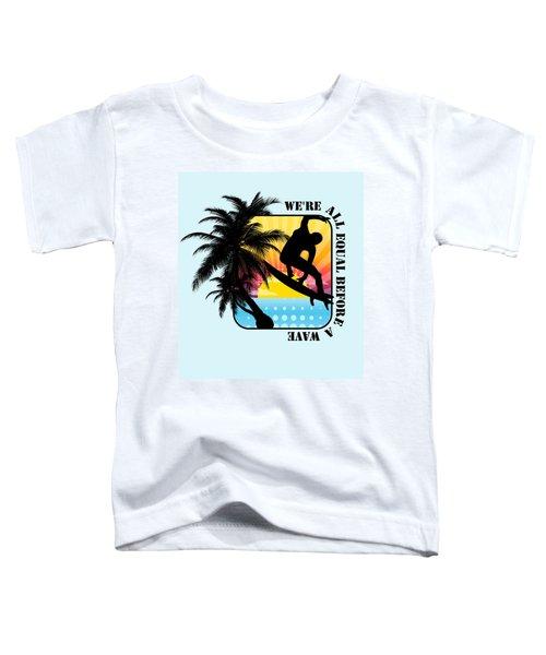 Surfboard Toddler T-Shirt
