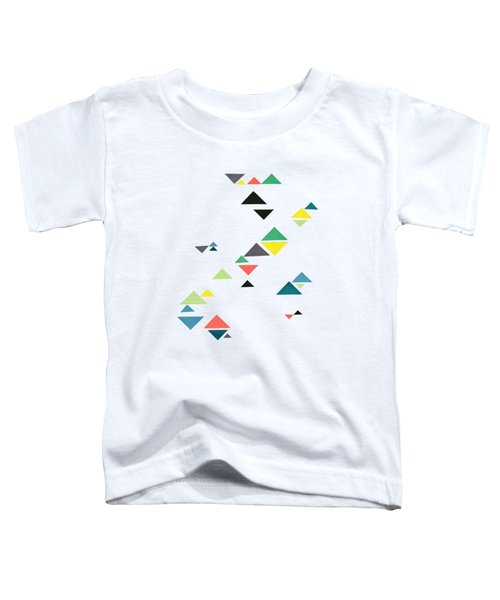Triangles Toddler T-Shirt