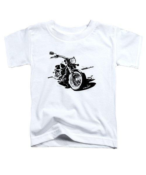 2013 Kawasaki Vulcan Classic Graphic Toddler T-Shirt