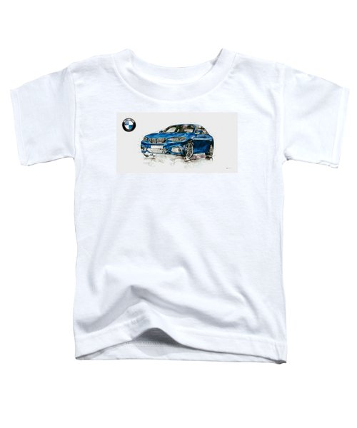2014 B M W 2 Series Coupe With 3d Badge Toddler T-Shirt