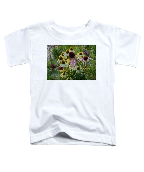 2015 Summer At The Garden Coneflowers Toddler T-Shirt