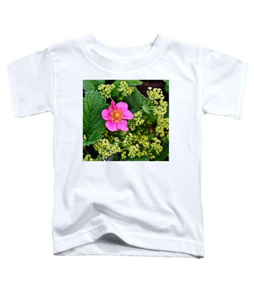 2015 Summer's Eve At The Garden Lipstick Strawberry Toddler T-Shirt