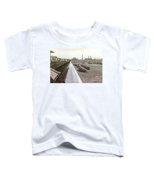 207th Street Subway Yards Toddler T-Shirt