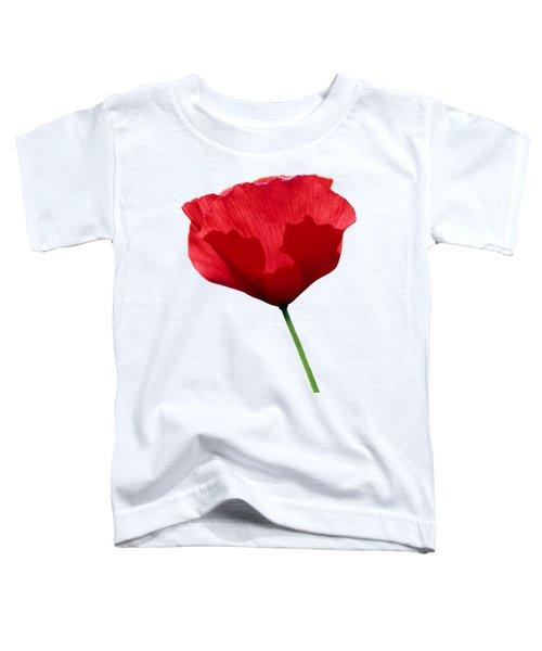 Poppy Flower Toddler T-Shirt
