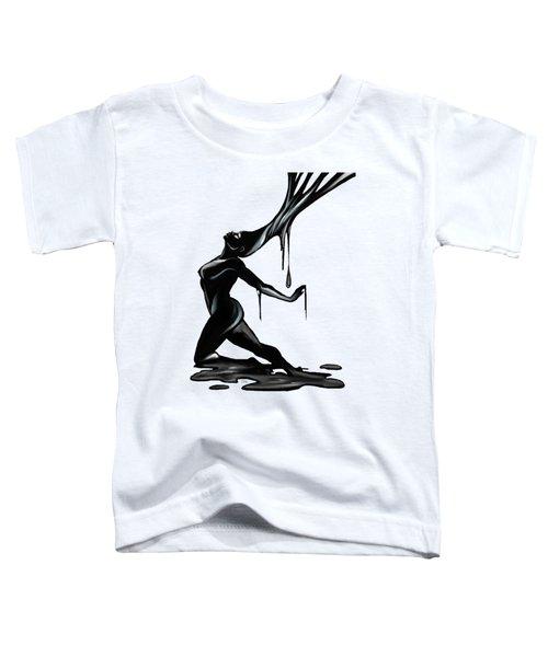 Black. Toddler T-Shirt