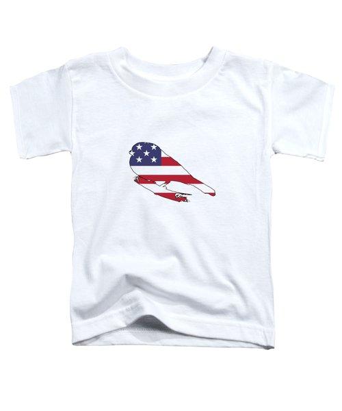 Bullfinch Toddler T-Shirt by Mordax Furittus