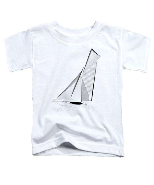 Falmouth Oyster Boat Toddler T-Shirt