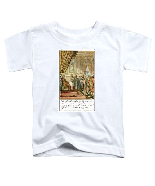 Franklin At Versailles Toddler T-Shirt