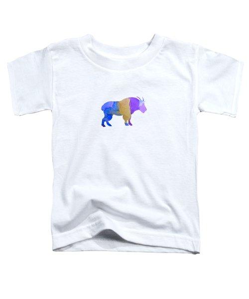 Goat Toddler T-Shirt by Mordax Furittus