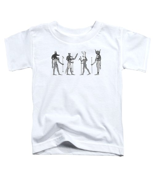 Gods Of Ancient Egypt Toddler T-Shirt
