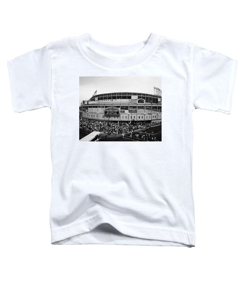 High Angle View Of Tourists Toddler T-Shirt by Panoramic Images