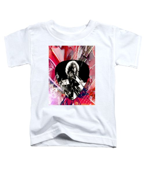 Jimmy Page Led Zeppelin Art Toddler T-Shirt