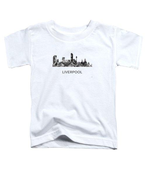 Liverpool England Skyline Toddler T-Shirt