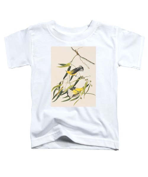 Prothonotary Warbler Toddler T-Shirt