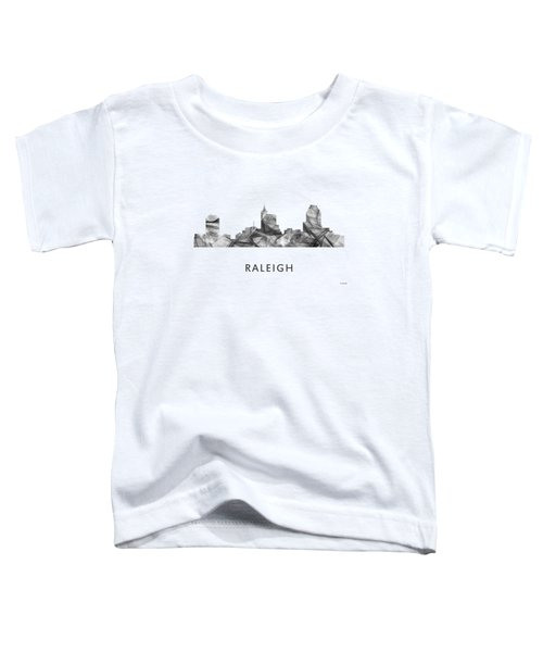 Raleigh North Carolina Skyline Toddler T-Shirt
