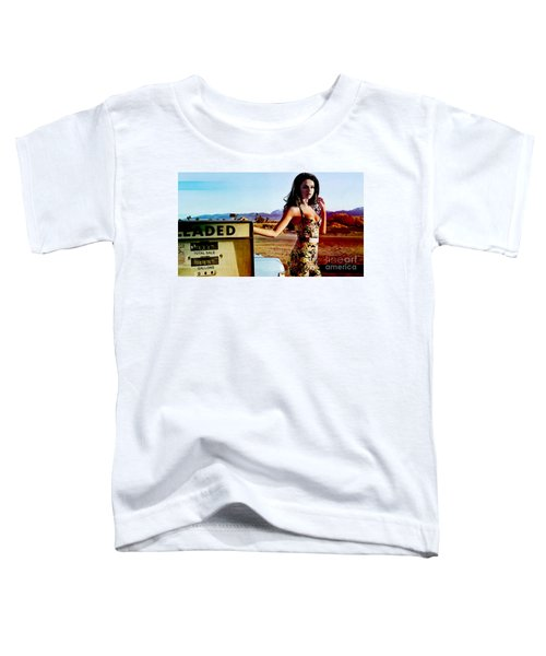 Toddler T-Shirt featuring the digital art Selena Gomez  by Marvin Blaine