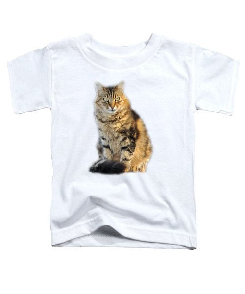 Sitting Cat Toddler T-Shirt