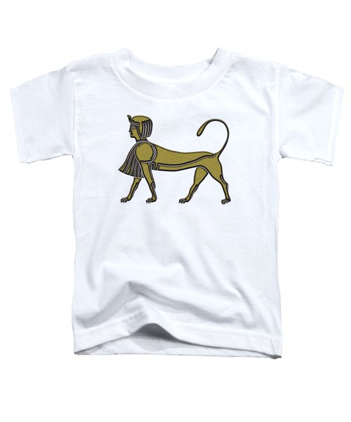Sphinx - Mythical Creature Of Ancient Egypt Toddler T-Shirt