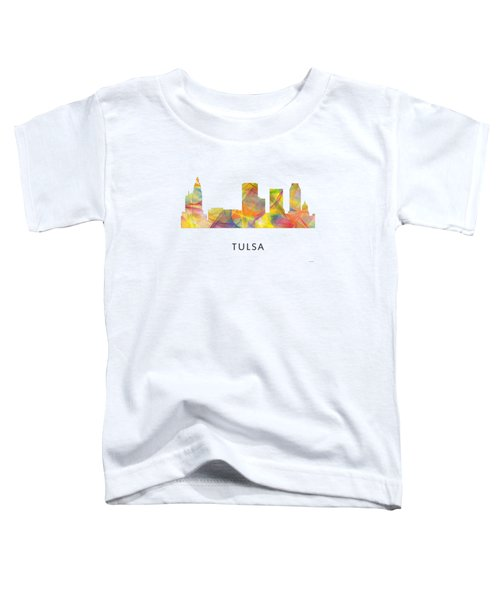 Tulsa Oklahoma Skyline Toddler T-Shirt