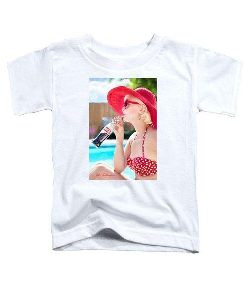 Vintage Val Poolside Toddler T-Shirt