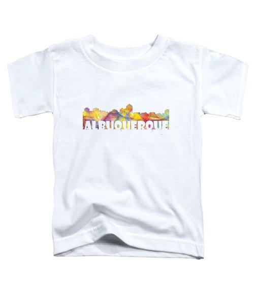 Albuquerque New Mexico Skyline Toddler T-Shirt