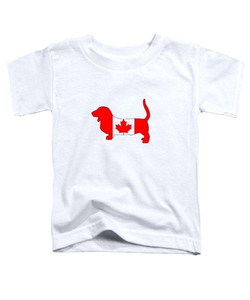 Basset Hound  Toddler T-Shirt by Mordax Furittus