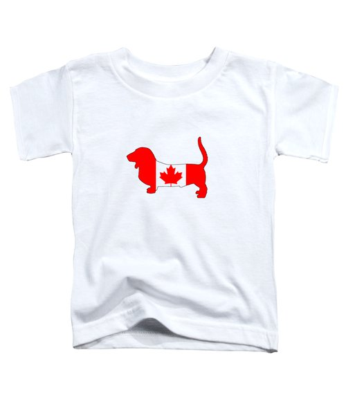 Basset Hound  Toddler T-Shirt