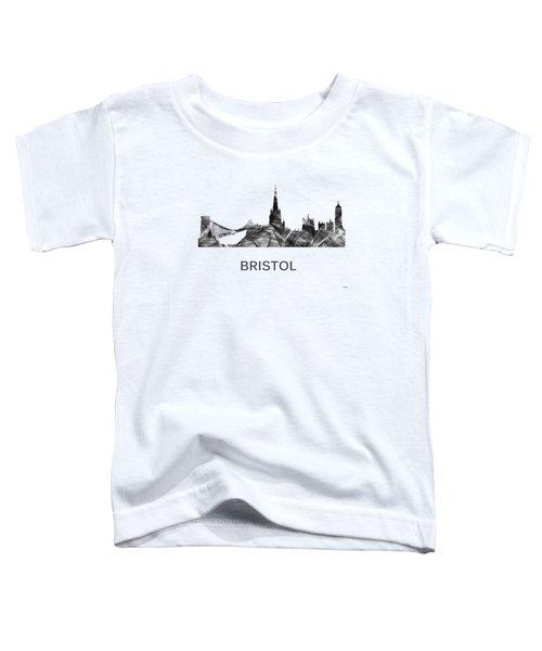 Bristol England Skyline Toddler T-Shirt