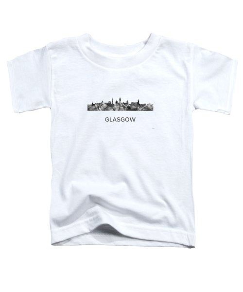 Glasgow Scotland Skyline Toddler T-Shirt