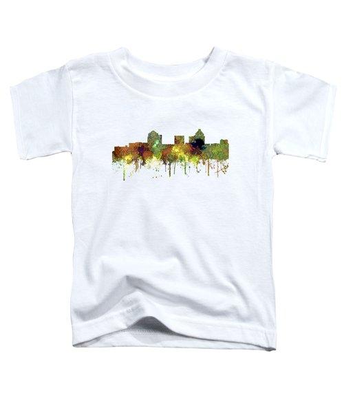 Greensboro North Carolina Skyline Toddler T-Shirt