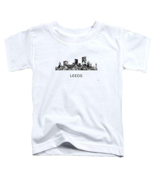 Leeds England Skyline Toddler T-Shirt