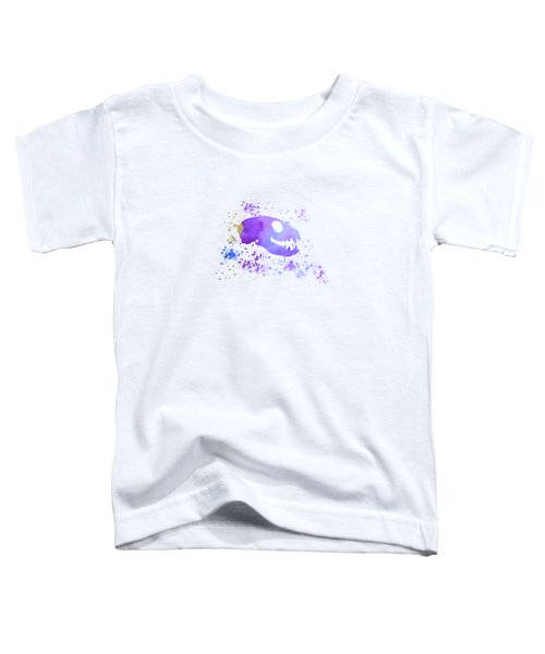 Meerkat Skull Toddler T-Shirt by Mordax Furittus