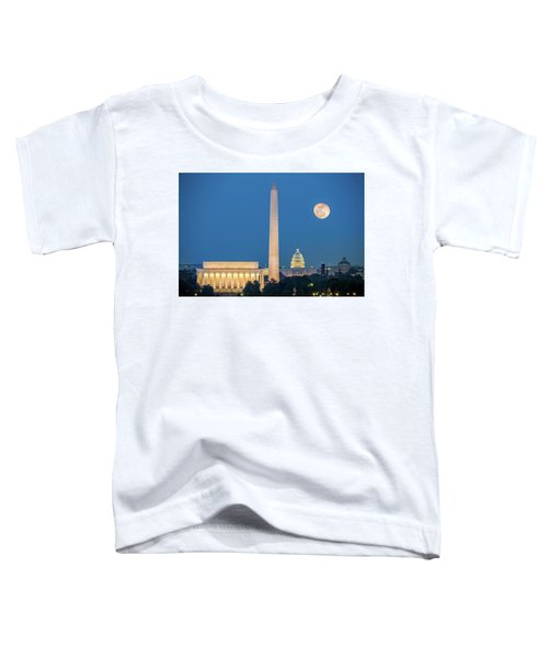 4 Monuments Toddler T-Shirt