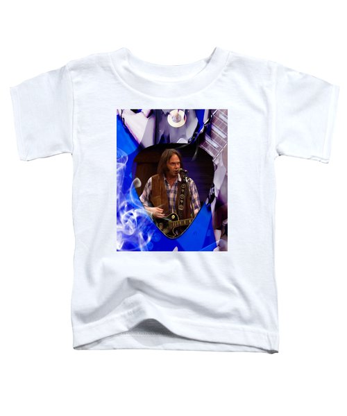 Neil Young Art Toddler T-Shirt