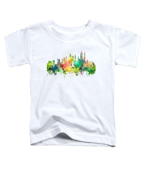 New York Skyline Toddler T-Shirt