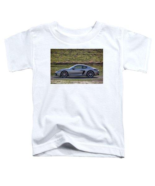 #porsche #718cayman S #print Toddler T-Shirt