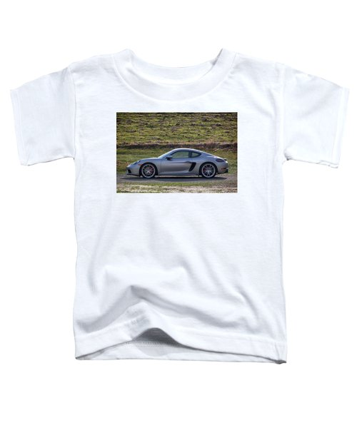 #porsche #718cayman S #print Toddler T-Shirt
