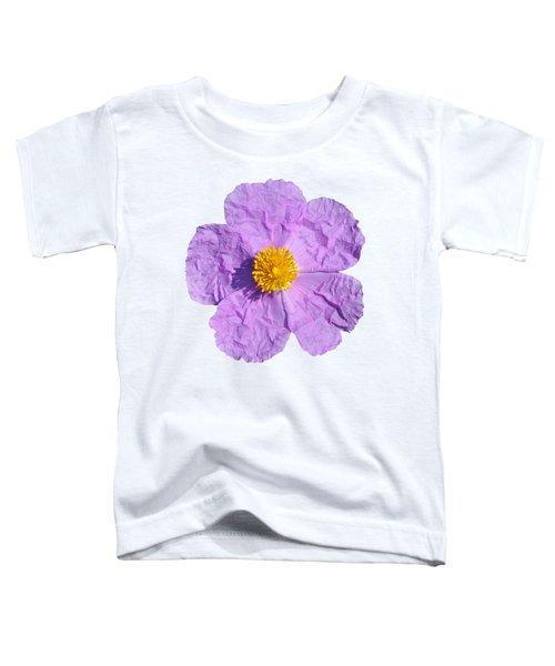 Rockrose Flower Toddler T-Shirt