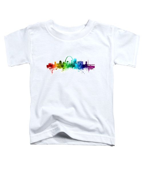 St Louis Missouri Skyline Toddler T-Shirt